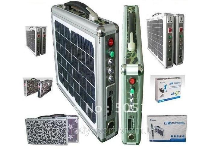 Coosen solar power bank - это внешний аккумулятор на солнечной батарее емкостью 20000 mah